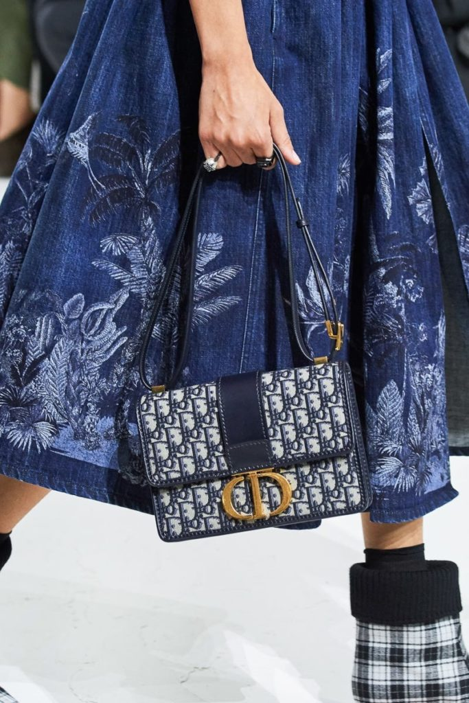 Dior Continues to Embrace Logos With Its  2019 Runway Bags