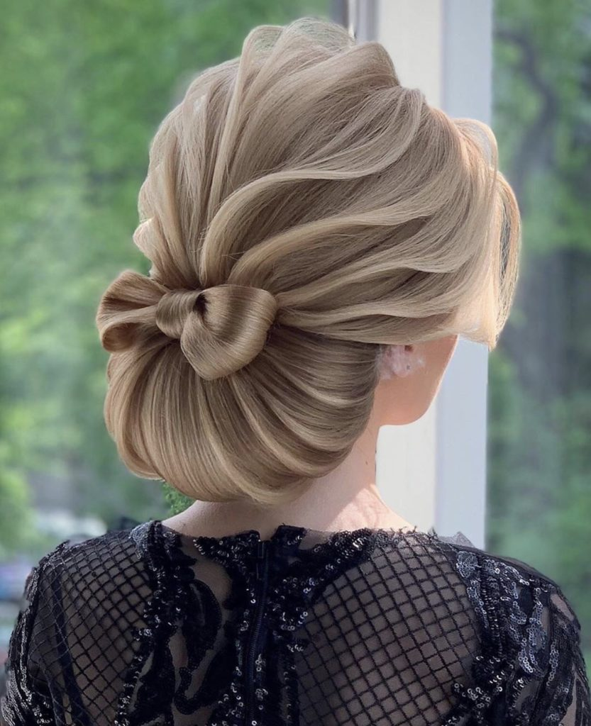 Most creative wedding hair styles for 2019 events.