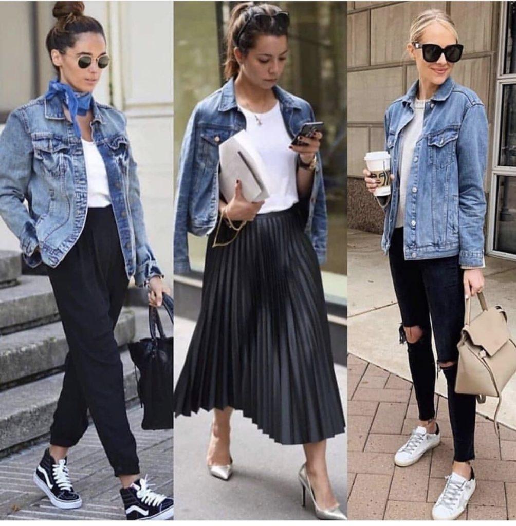 12 different ways to wear denim jackets