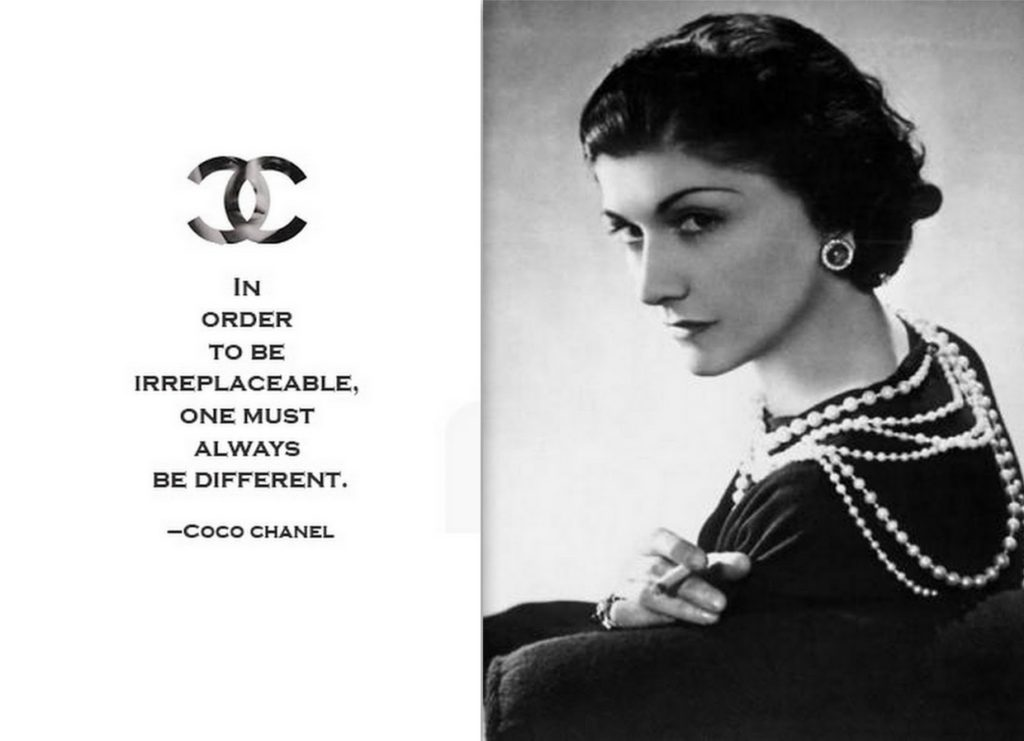 Why is Coco Chanel my favorite brand?